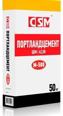 ПОРТЛАНДЦЕМЕНТ М-500 Д0